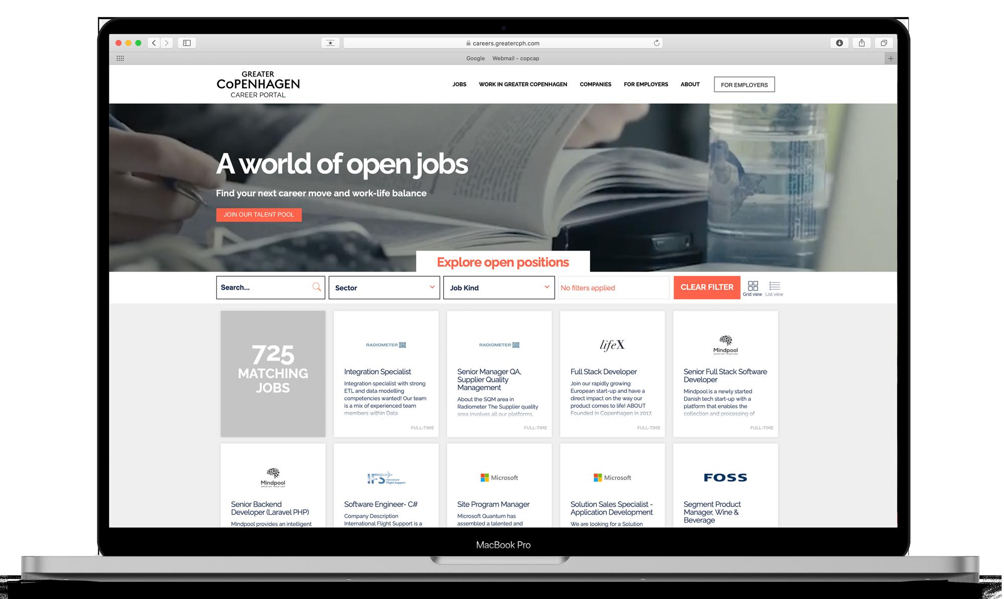 Career portal 2