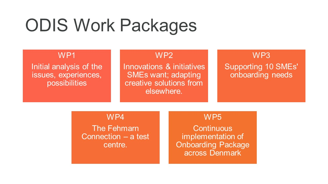 ODIS-Work packages
